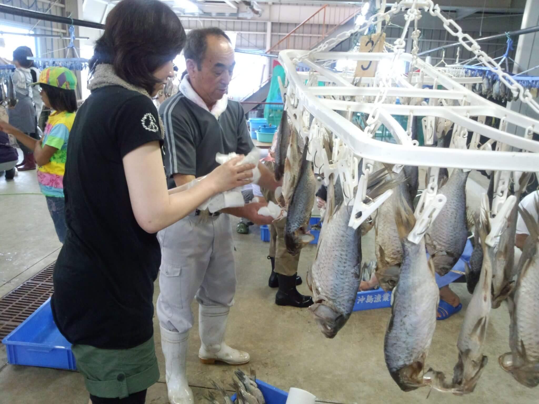 沖島漁協×琵琶湖汽船 鮒ずし作り体験クルーズ2020【pickup】