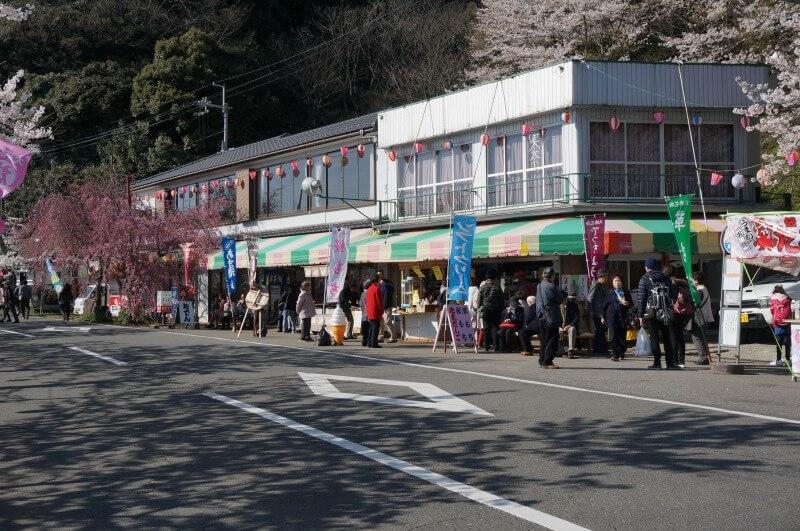 海津大崎の売店